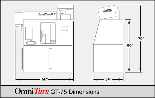 Omni-705 Omni-805 7 /& 8 Station Gang Tool Holders OmniTurn Omni Turn GT-75